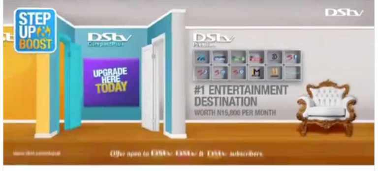 stepupboost DStv