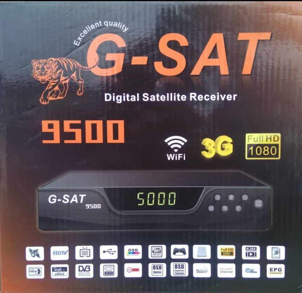 G-Sat 9500 digital Satellite receiver