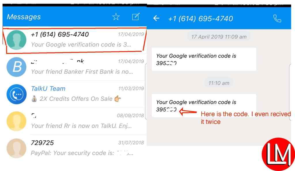 Fix Google 2-Step Verification