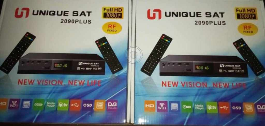 Unique Sat 2090Plus Full HD receiver with RF