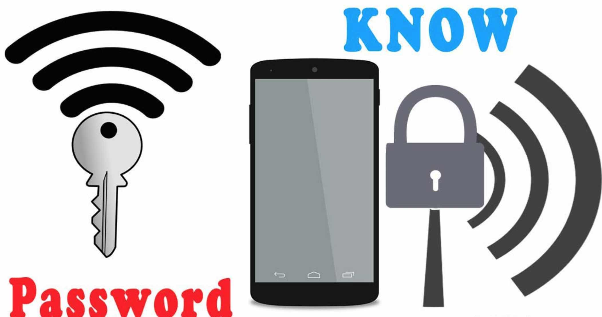 View Wi-Fi password with Android Phones without Root