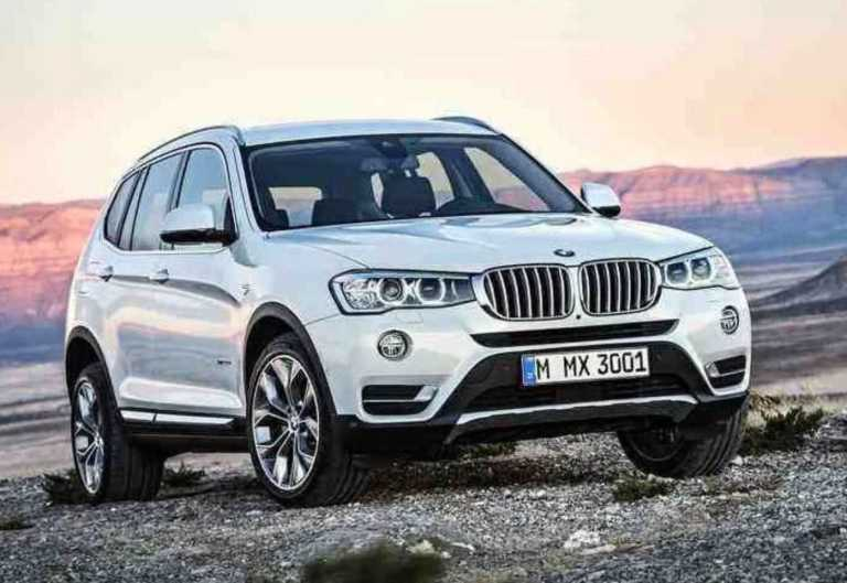 BMW X3 SUV_Front View
