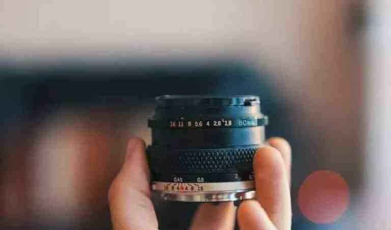 Fixed focus camera lens