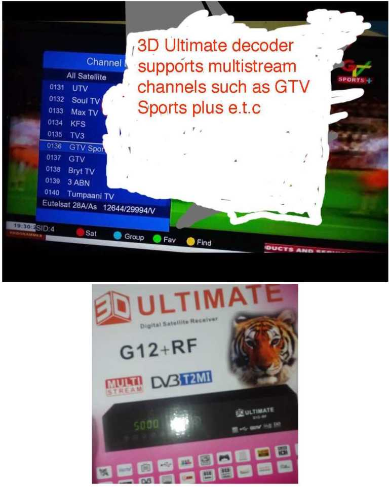 3D ultimate multistream channels