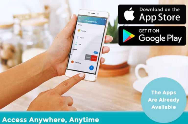Access your fridge anytime via fridge eye app