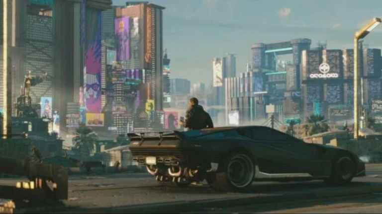 Cyberpunk 2077 compatible with PS4 and PS5