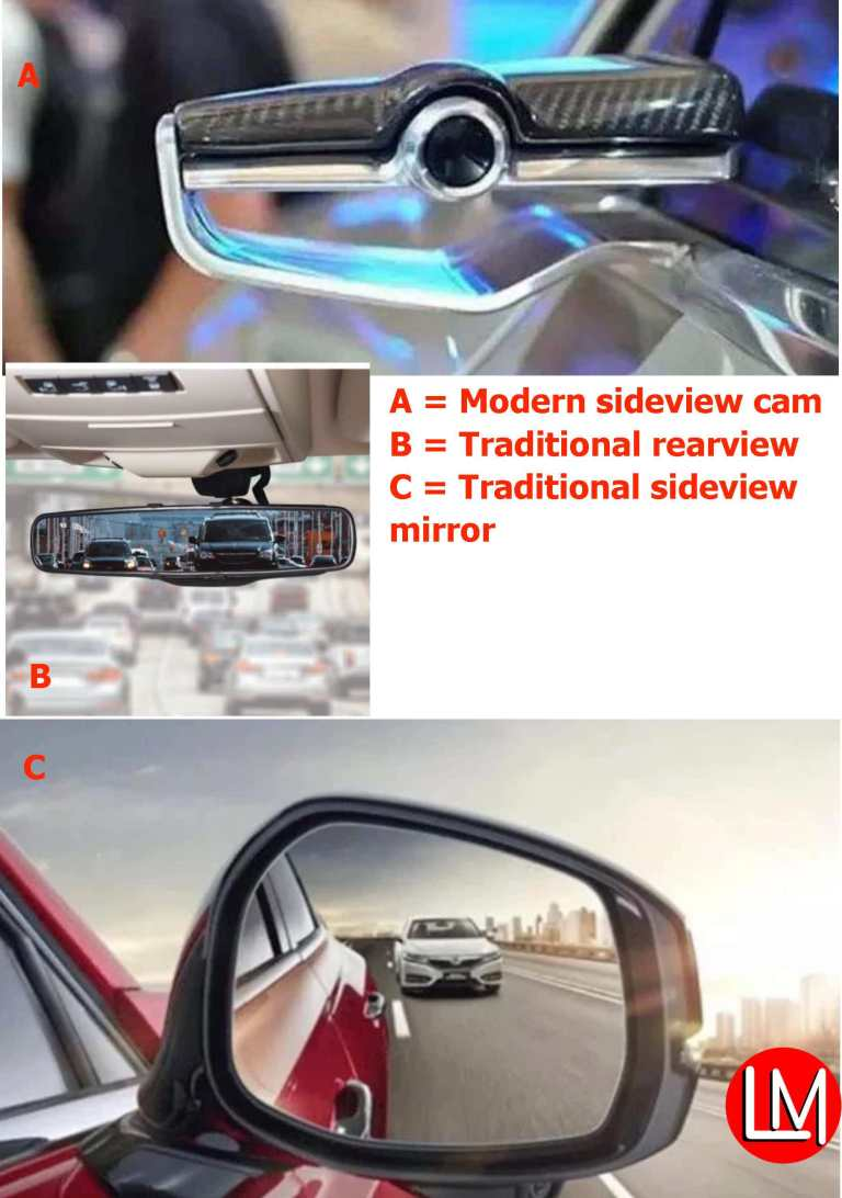 alternative to rearview mirror technology