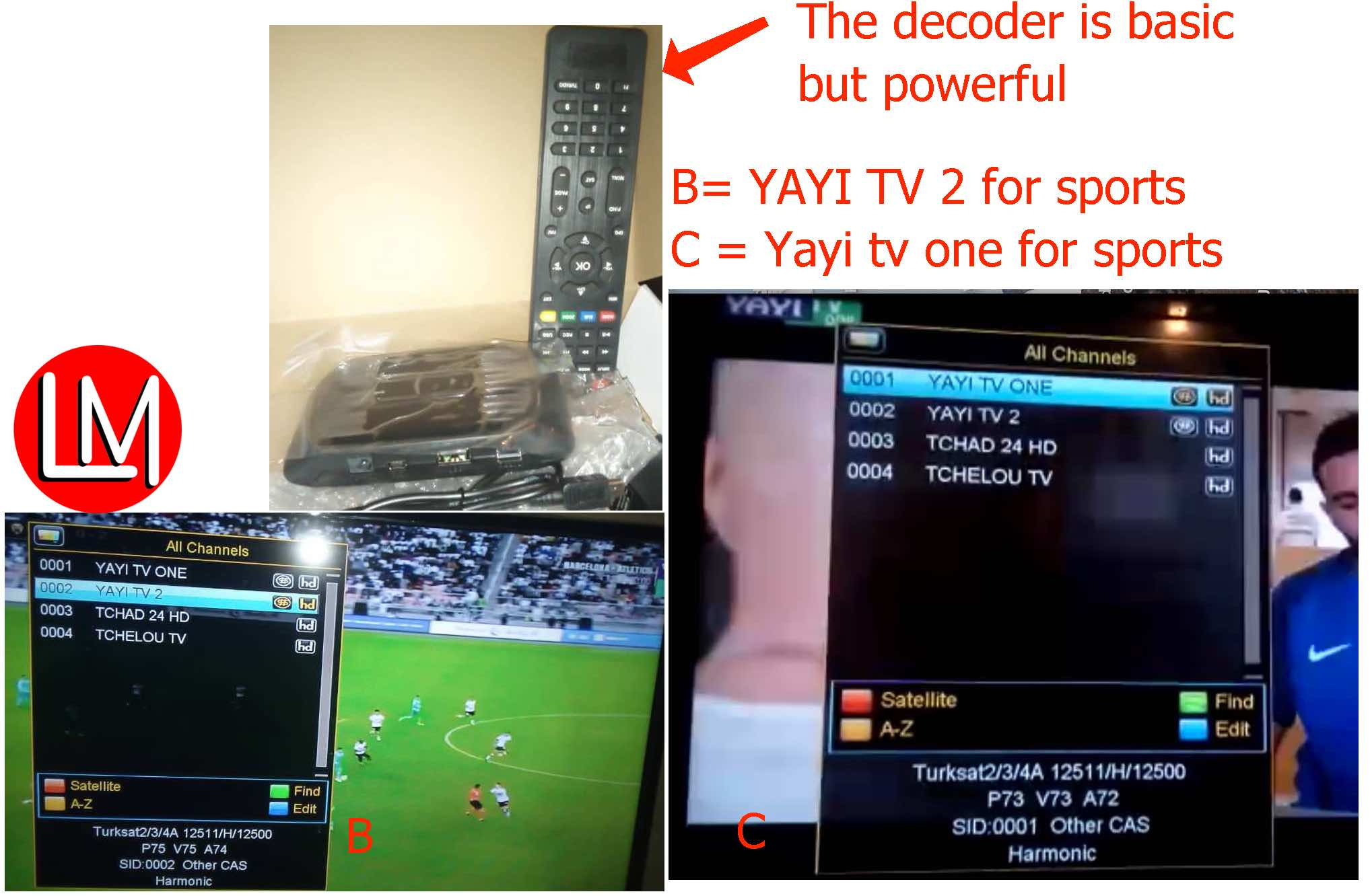 Updates on Yayi TV: Decoder Sales, Frequencies & Channels