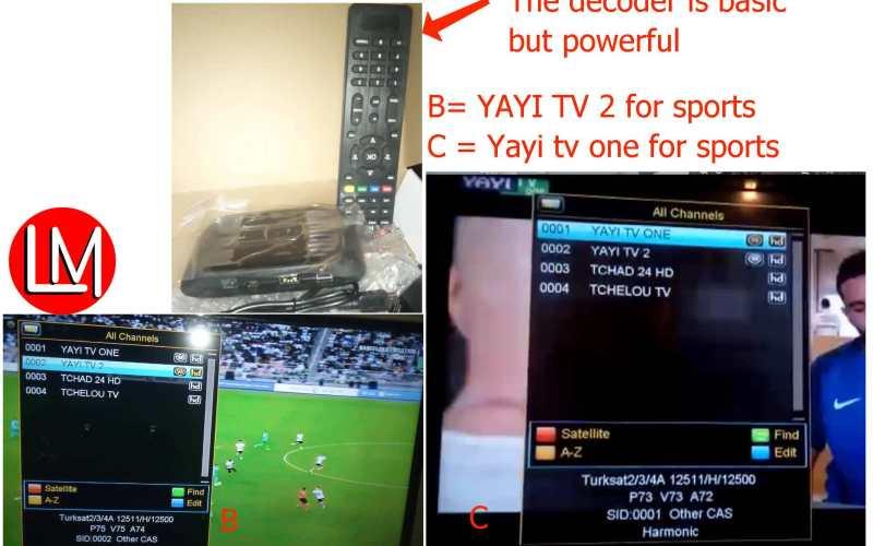 Yayi TV frequency & channels