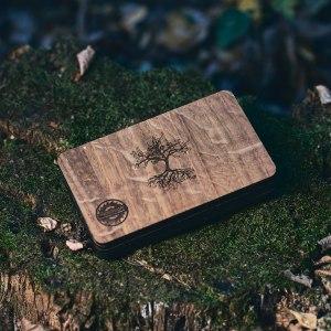 Cutie lemn Stejar Luna