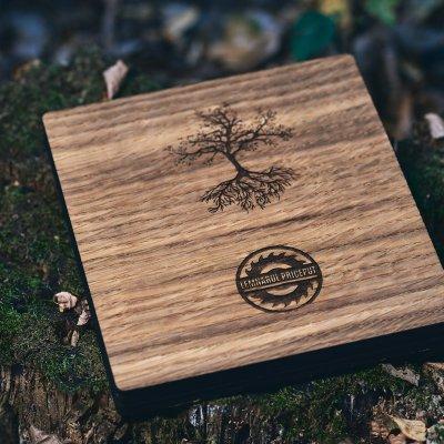 Cutie lemn Stejar Lara