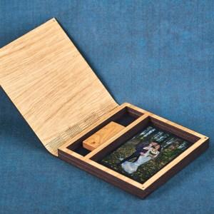 Cutie lemn Stejar Fix