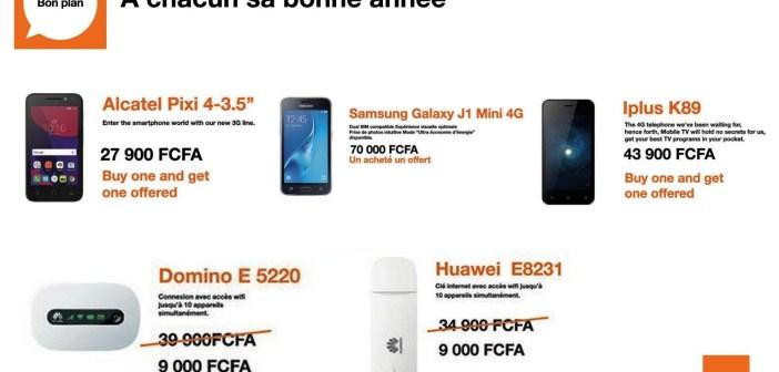 Promotion de Noel 2016 : Orange Cameroun et Camtel cassent les prix de leurs modems et téléphones