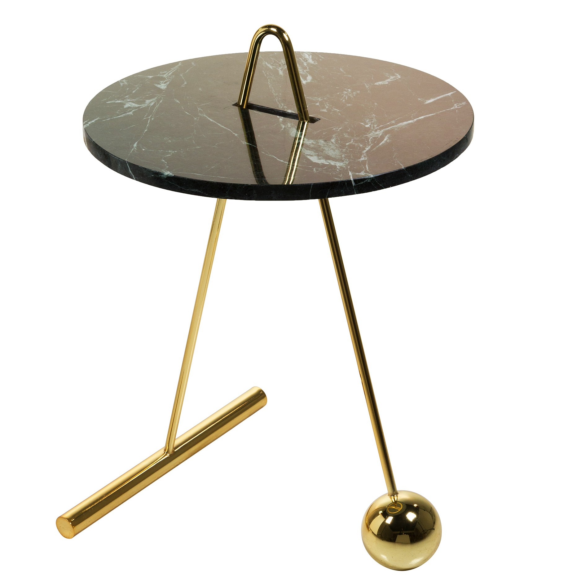 table d appoint luxor mabre guatemala verde laiton