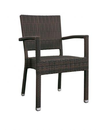 chaise metal exterieur m0149