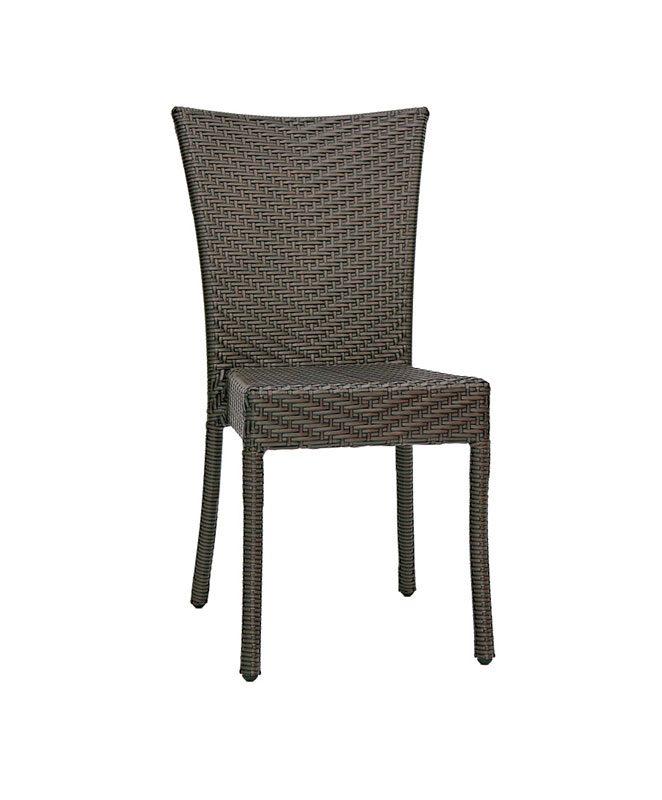 chaise resine tresse exterieur m0069