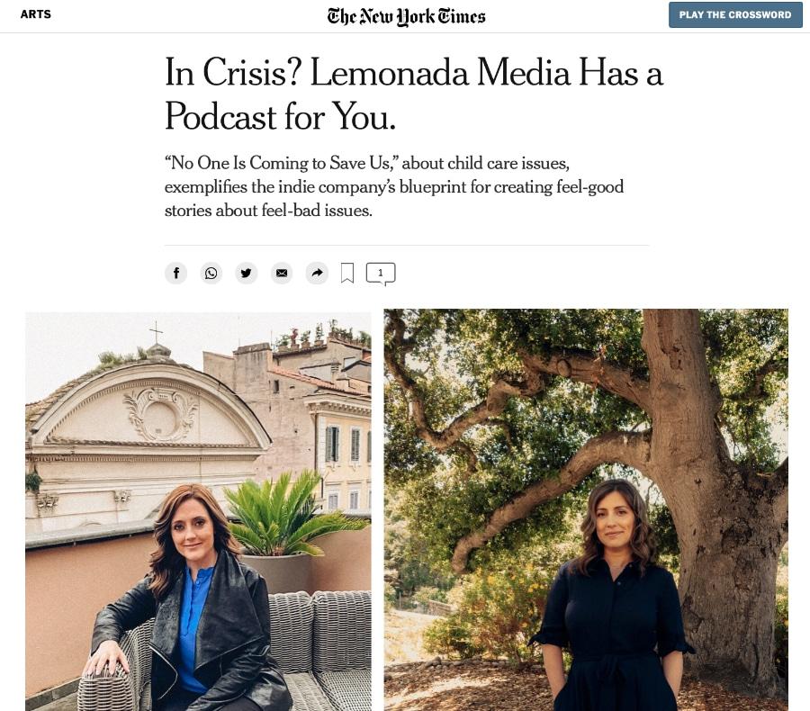 New York Times & Lemonada