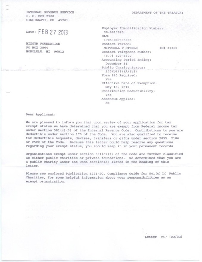 501 C 3 Designation Letter From The Irs   Newsinvitation.co  C W Form Sample on sample contact us form, sample strategic planning form, sample event planning form, sample risk management form, sample tax exempt form, sample insurance form, sample contribution form, sample training form, sample irs form, sample donation form, sample form 990 ez,