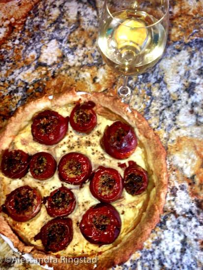 round tomato tart-8
