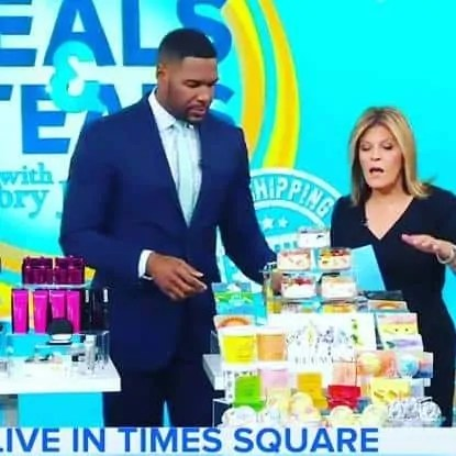 Primal Elements soap on Good Morning America