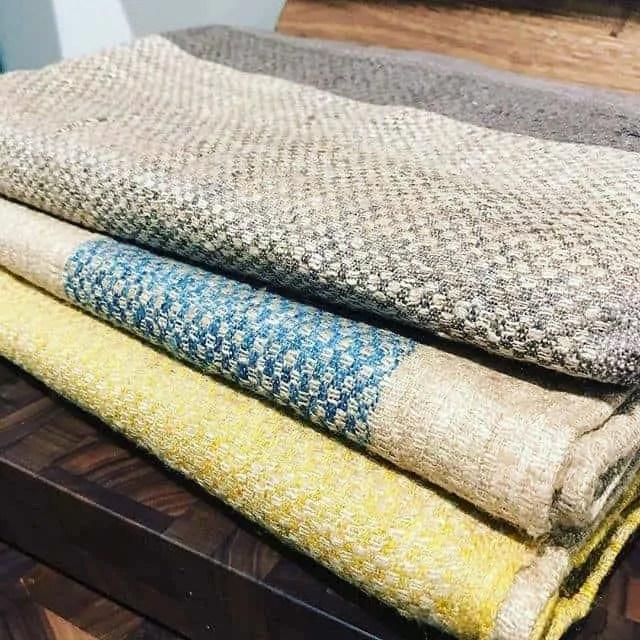 Sustainable Threads fair trade loomed silks