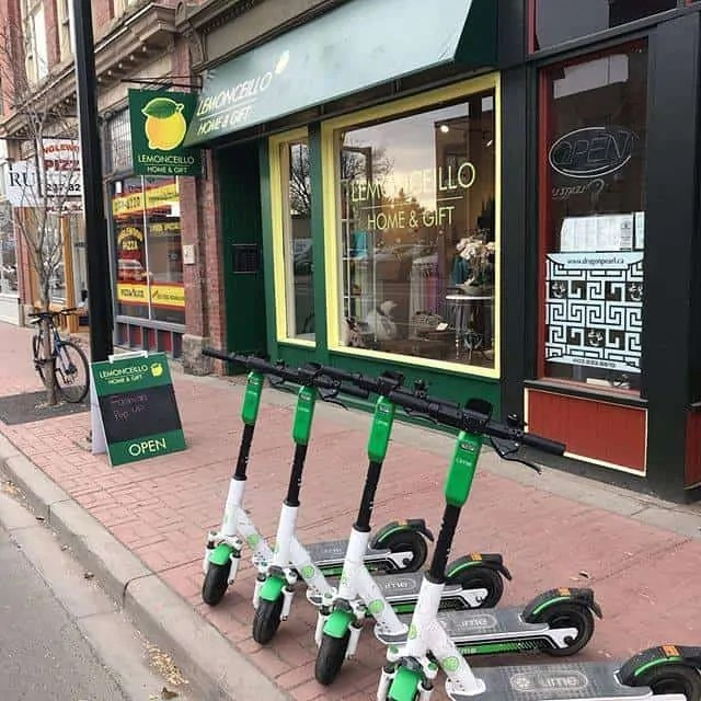 Lime Scooters at Lemonceillo