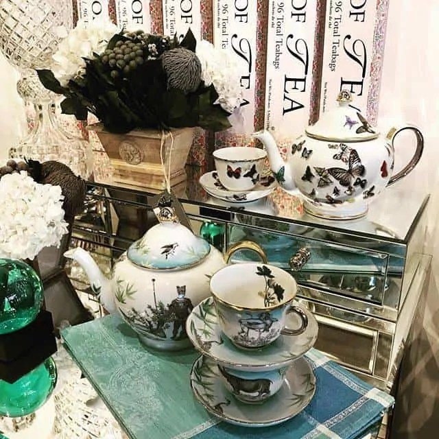 Christian LaCroix Tea Set
