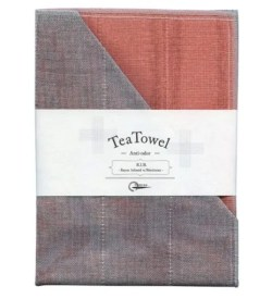 Nawrap Tea Towel Coral w/ Binchotan Charcoal