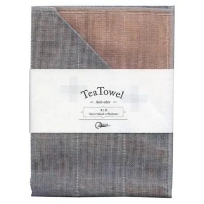 Nawrap Tea Towel Pink w/ Binchotan Charcoal