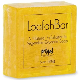 Primal Elements Loofah Soap – Mint Leaf