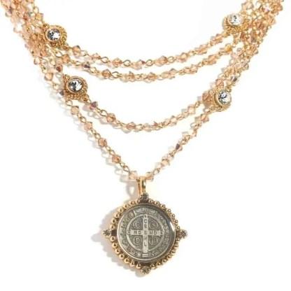 Virgins Saints & Angles San Benito Magdalena Necklace