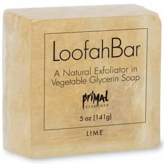 Primal Elements Loofah Soap - Lime