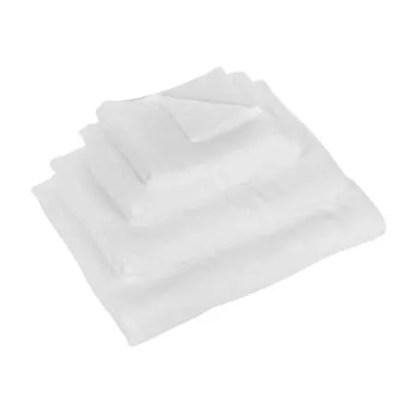 Uchino Zero Twist Dot Hand Towel - White