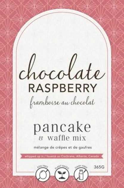 Chocolate Raspberry Pancake Mix
