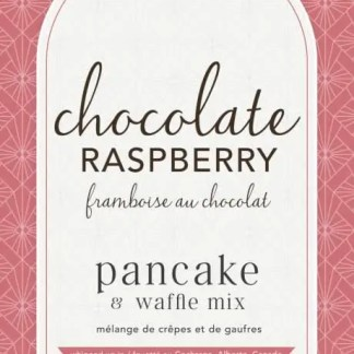 Chocolate Raspberry Pancake Mix