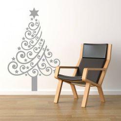 Esthétique et pratique, un sapin de Noël qui ne vous prendra pas un brin de place ! ©deavita