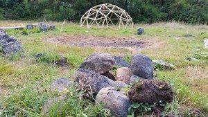 Cérémonie INIPI - Hutte de sudation à la bergerie des bois à Messac