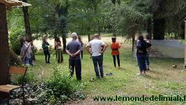 journée portes ouvertes Ecoute Holistique Sensitive, formation en développement personnel énergétique, découverte des doigts lumière en petit groupe