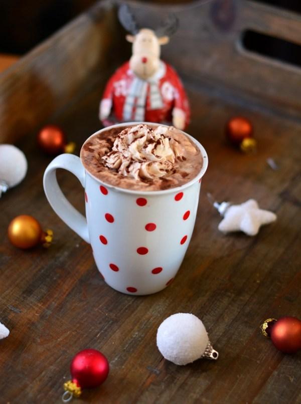 chocolat chaud crème de marron