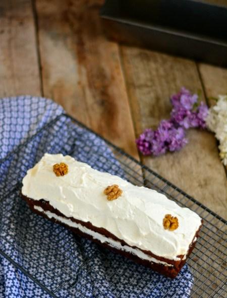 gâteau aux carrottes