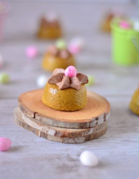 nids de pâques chocolat matcha