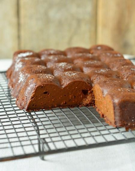 fondant potimarron chocolat