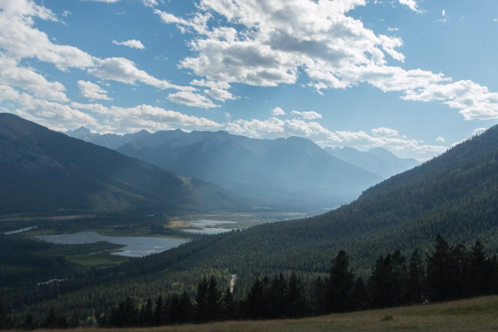Jolie vue sur la vallée