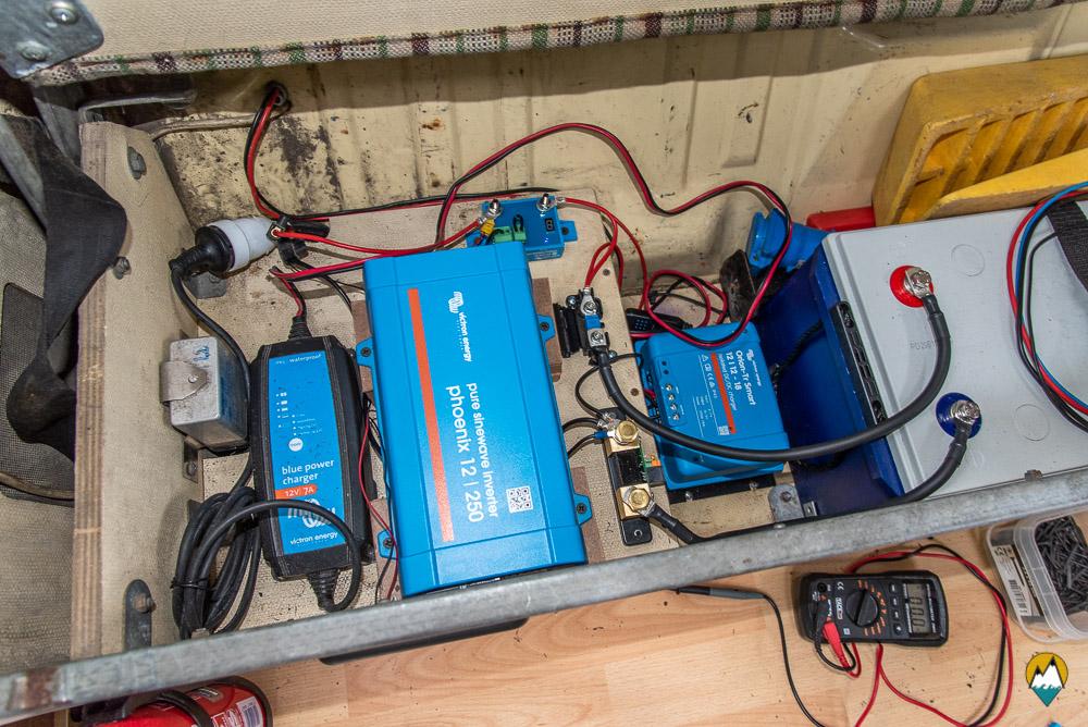 l'installation électrique de Karl
