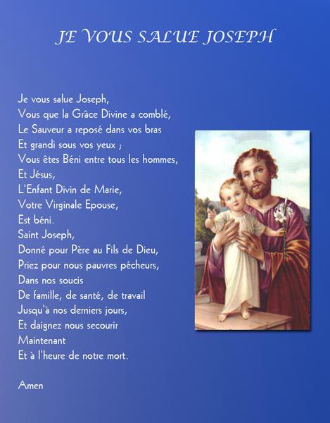 """Résultat de recherche d'images pour """"prière à st joseph"""""""