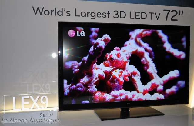 ifa 2010 lg expose la tv lex9 la