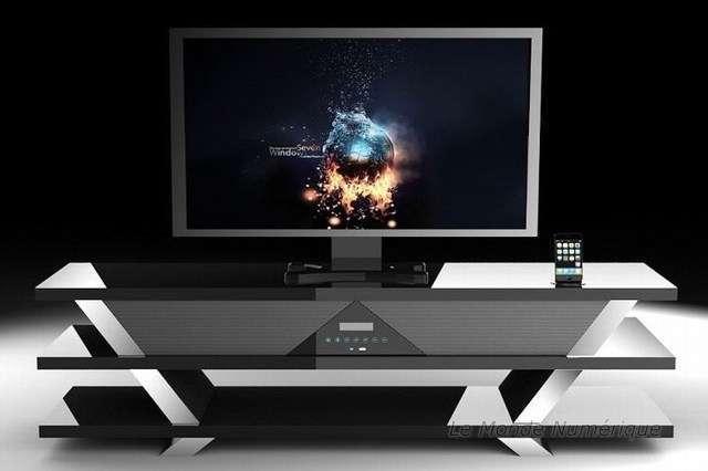 meuble soundvision sv 1600 pour