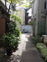 Ruelle du quartier de Fukushima, à Osaka