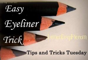 Easy Eyeliner Trick
