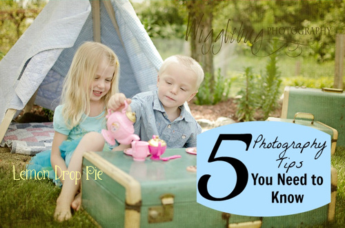 5 photography tips